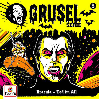 Cover Gruselserie: Dracula - Tod im All
