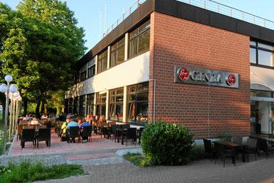 Nahe Flugplatz, Businesspark und Zufahrt zur Insel Reichenau