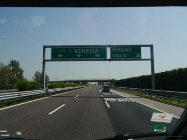 Auf nach Venedig!