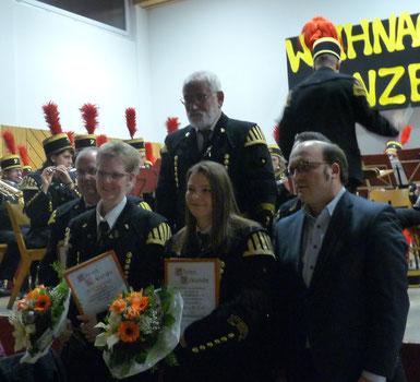 Für 50 Jahre Mitgliedschaft wurde Adolf Rombach (oben) geehrt. Herzliche Gratulation.  Bild: Christa Faas