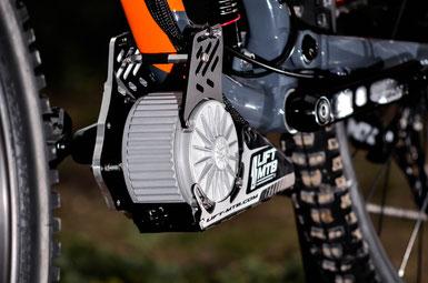 montage kit electrique sur vélo
