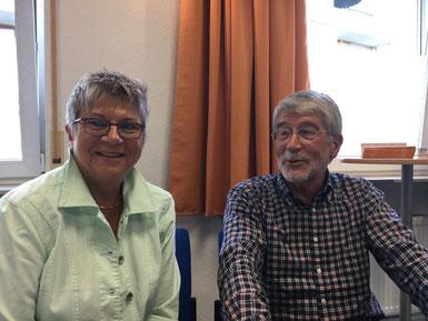 Helga Lerch mit Prof. Dr. Ulrich Sarcinelli