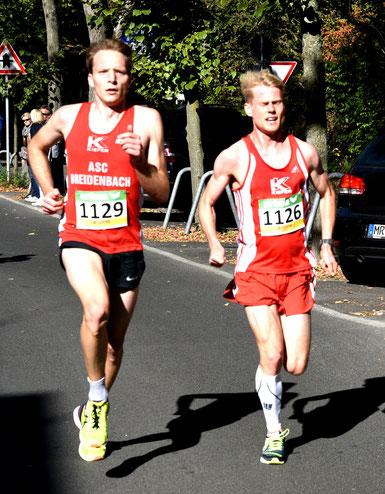 Sieger Kilian Schreiner  und Alexander Hirschhäuser, Foto H. Schaake