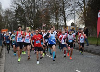 Start Halbmarathon, Foto; H. Schaake