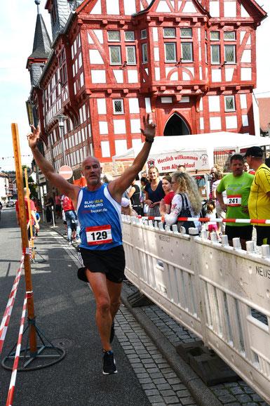 5km 2 Platz Jürgen Dönges Buchenau SF Blau-Gelb MR FOTO Schaake