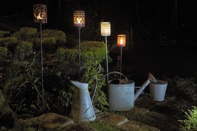 Blog Archi'Tendances, Rubrique Décoration, lumière au jardin