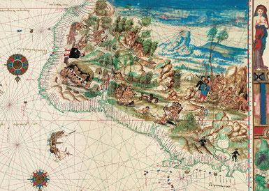 Atlas Vallard - Mer des Caraïbes et Brésil
