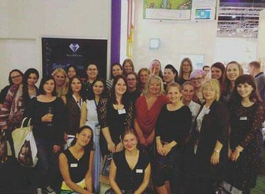 Die Dark Diamonds Autoren und ihre Lektorinnen auf der Frankfurter Buchmesse 2017