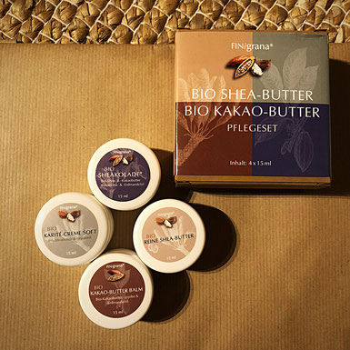 FINigrana Bio Shea und Kakao-Butter Pflege Set