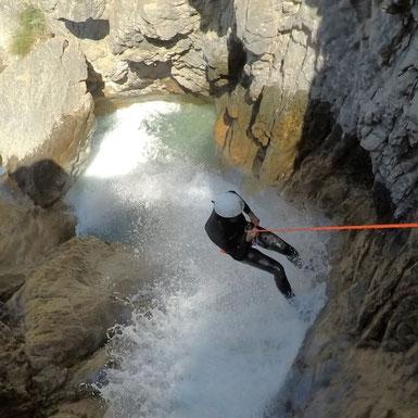 canyoning hautes alpes, briançon