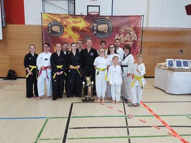 Zufriedene Hapkido- und Taekwondo-Sportler von Satori Ahlen e. V.