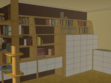 mueble , estudio , vestidor