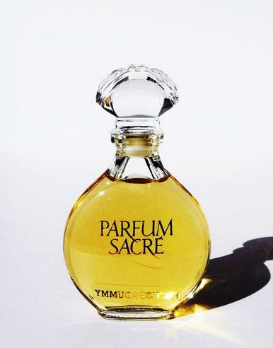1990 - PARFUM SACRE - FLACON FACTICE AVEC BOUCHON EN VERRE