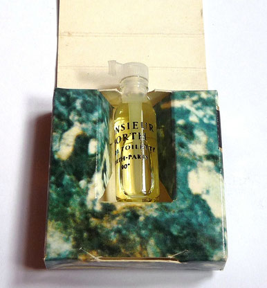 MONSIEUR WORTH - ECHANTILLON TUBE EAU DE TOILETTE