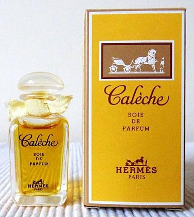 CALECHE - SOIE DE PARFUM 7,5 ML : BOÎTE DIFFERENTE, CONTENANCE NON INDIQUEE SUR CELLE-CI