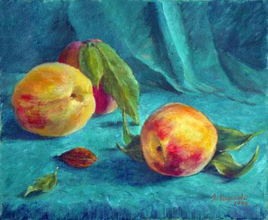 """Татьяна Казакова. """"Персики"""", 2009"""