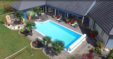 chambre d'hôte escale en Corrèze piscine chauffée en été