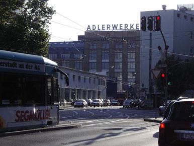 Frankfurt Gallus - Mainzer Landstr. / Kleyerstr.