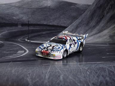 Faller AMS AURORA AFX G-Plus BMW M1 DRM AHG Bielefeld #78