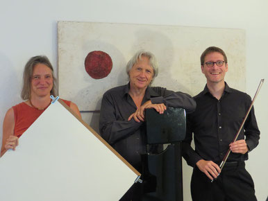 Ensemble Tonspuren: Guido Eva, Ronald Poelman, Beate Simon