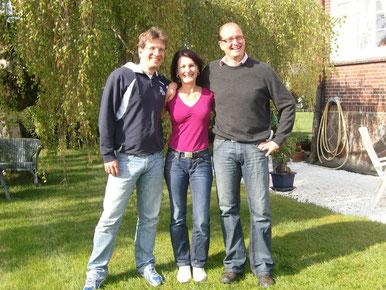 v.l. Frank Schöwing, Dagmar Schmidt, Bernd Schulze