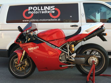 Ducati 998 Bj2002 mit 29285km