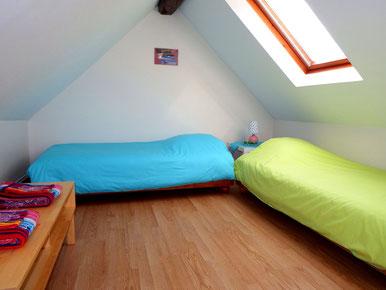Deux lits de 90x190