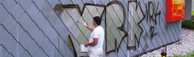 Graffitischutz und Graffitientfernung