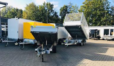 Anhänger und Motorradanhänger Vermietung Kamp-Lintfort