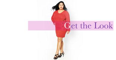 Strickkleid in Größe 50 ,schicke Looks für mollige Frauen