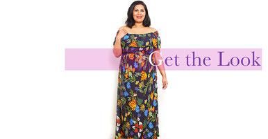 Carmenkleid in Größe 50 , modisches Sommerkleid