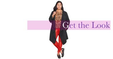 Schlangenprint Leggings für kurvenreiche Fashionistas , rockige dicke Mode