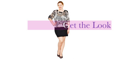 hochmodischer Mantel in Größe 50 , Laufsteg-Looks für mollige Frauen