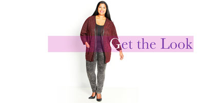 Damen-Jacke in große Größen