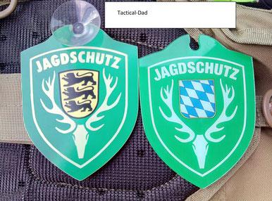 """Autoschilder mit """"Jagdschutz"""", """"Jagdbetrieb"""", Forstschutz usw. haben viele Vorteile."""