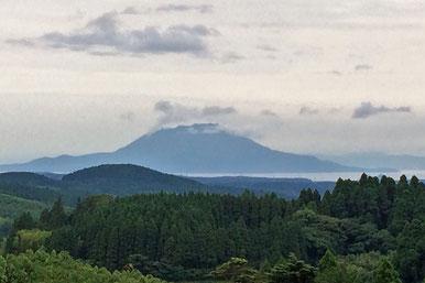 桜島、鹿児島県