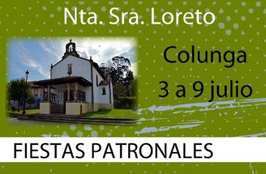 Programa de las Fiestas de Colunga 2015