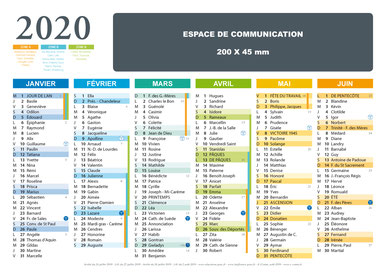 calendriers, espace de communication, personnalisé, personnalisable, espace vierge, espace de communication, support souple, A4, A3