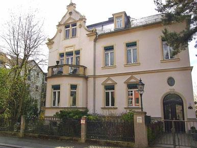 Wohnhaus der Familie Carl von Waeber in Radebeul - ©Foto von Pamela Bräsel