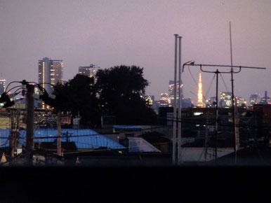 西新井からも意外と良く見える、東京タワー