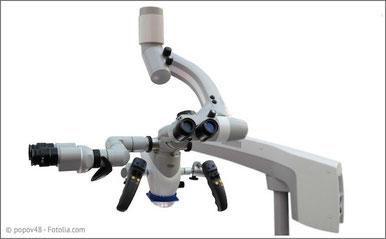 Op-Mikroskop: Beste Sicht bei schwierigen Behandlungen!