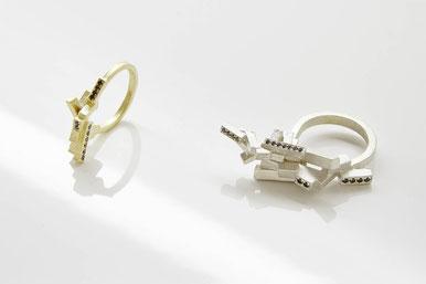 Anhänger von Heike Wanner - Silber, Perle, Fundstücke  €320