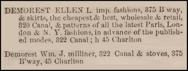 New York Directory  1859 - 60