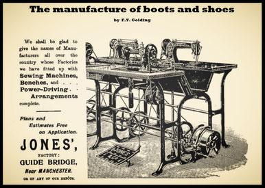 The manufacture of boots and shoes – F.Y. Golding (1902)