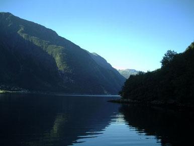 Sørfjorden zwischen Odda und Tyssedal