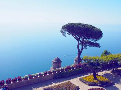 Villa Rufolo Ravello côte Amalfitaine Blog voyage Italie Marcellooo.fr