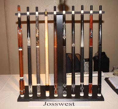 2009年の『ICCS』に展示されたJosswestキュー
