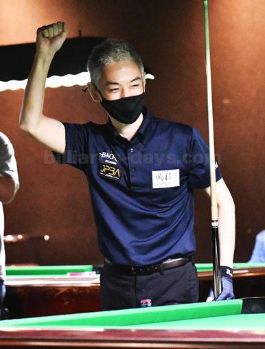 Keisuke Hanawa won 2021 JPBA Grand Prix East stop#1.