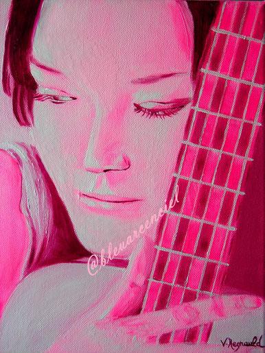 2012 Peinture à l'huile sur toile de coton 25/30 cm, d'après l'auteur