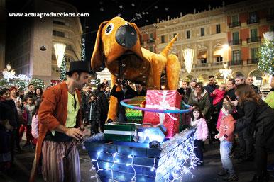 strassentheater Weihnachten